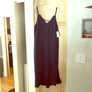 19 Cooper navy blue dress